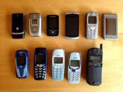 11 Handys, Nokia,