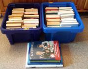 2 Kisten Bücher