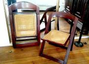 2 Klapp Stühle