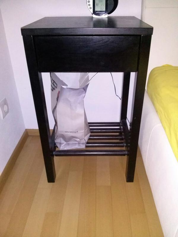2 nachtk stchen in schwarz in wolfurt schr nke sonstige. Black Bedroom Furniture Sets. Home Design Ideas