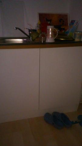 2 plattenherd 2t riger sp lschrank. Black Bedroom Furniture Sets. Home Design Ideas