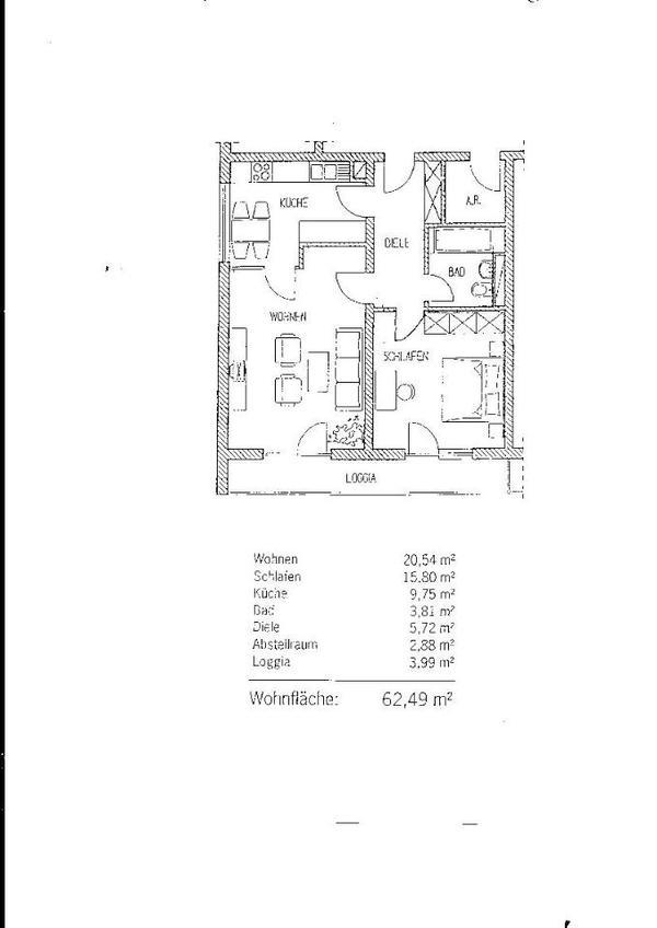 2 zimmer wohnung von privat in frankfurt vermietung 2. Black Bedroom Furniture Sets. Home Design Ideas