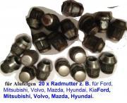 20x Radmutter z.