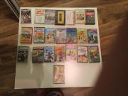 22 Kassetten für
