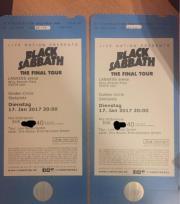 2x Black Sabbath