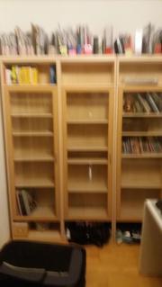 3 Bücherschränke mit