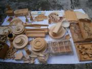 3 Kisten Holzrohlinge