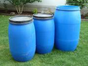3 Kunststofffässer zu