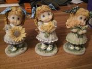 3 Mädchenfiguren