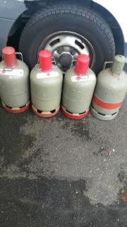 4 Prophan- Campinggasflaschen
