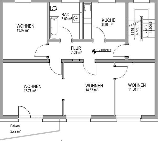 Haus Kaufen In Karlsruhe: 4 Zimmer-Wohnung In KA-Neureut