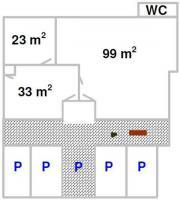 50-155 m²
