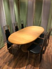 6 Stühle schwarz