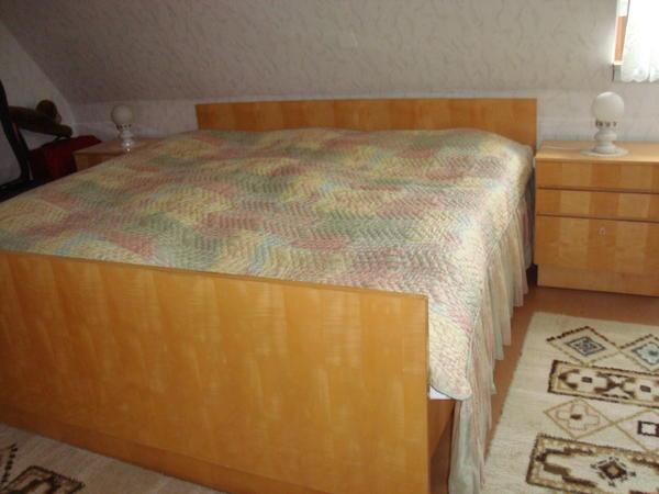 60er jahre vollholz schlafzimmer in n rnberg schr nke for Bett 60er jahre