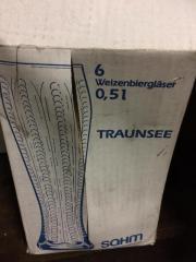 6x Weizenbier Gläser