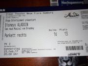Aladdin Musical, Hamburg