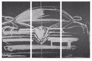 Alfa Romeo Wandtuch (