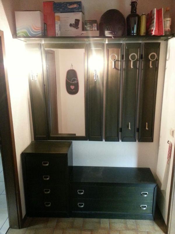 Garderobe schwarz neu und gebraucht kaufen bei for Garderobe gebraucht
