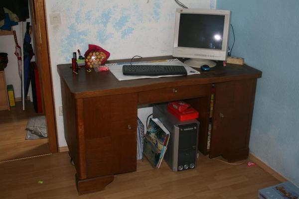 alte schreibtisch neu und gebraucht kaufen bei. Black Bedroom Furniture Sets. Home Design Ideas