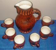 Altes Keramik Set