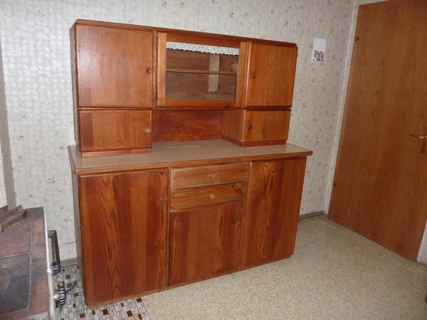 altes massives k chenbuffet k chenschrank in bad rappenau k chenm bel schr nke kaufen und. Black Bedroom Furniture Sets. Home Design Ideas