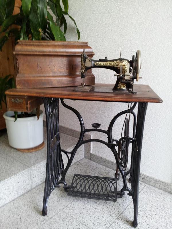 antike n hmaschine von kayser in bondorf sonstige. Black Bedroom Furniture Sets. Home Design Ideas