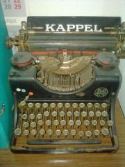 Antike Schreibmaschine Marke