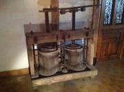 Antike Weinpresse aus