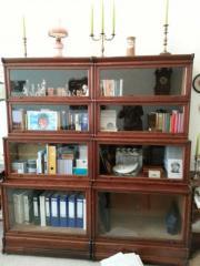 antiker Bücherschrank