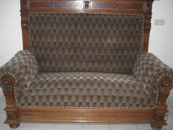 antikes sofa in michelau polster sessel couch kaufen und verkaufen ber private kleinanzeigen. Black Bedroom Furniture Sets. Home Design Ideas