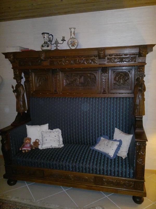 antikes sofa mit berbau in ottobrunn sonstige m bel antiquarisch kaufen und verkaufen ber. Black Bedroom Furniture Sets. Home Design Ideas