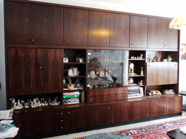 antiquit t rio palisander schrankwand edelholz prima zustand in bochum wohnzimmerschr nke. Black Bedroom Furniture Sets. Home Design Ideas