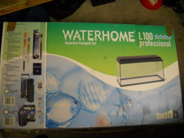 Aquarium komplett set 200 liter waterhome l100 for Waterhome aquarium