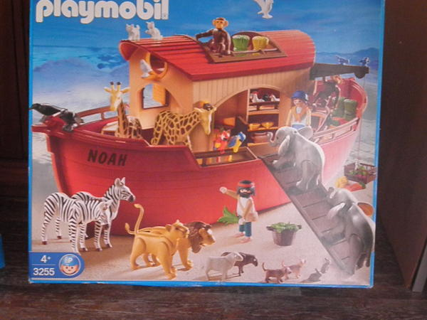 arche noah playmobil 3255 in bechhofen playmobil kaufen und verkaufen ber private kleinanzeigen. Black Bedroom Furniture Sets. Home Design Ideas