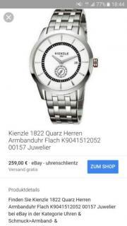 Armbanduhr Kienzle 1822