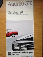 Audi 80 Prospekte