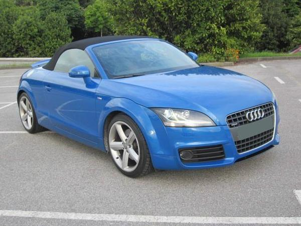 used audi tt 2 roadster your second hand cars ads. Black Bedroom Furniture Sets. Home Design Ideas
