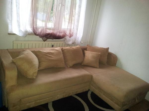 Ausziehcouch zur selbstabholung polster sessel couch for Schlafsofa zu verschenken