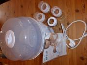 Avent Dampfsterilisator mit Avent Flaschen ohne Sauger verkaufen sehr gut erhaltenen Dampfsterilisator von Avent. Reinigt bis zu 6 Babyflaschen mit Dampf, schaltet sich automatisch ab. Flaschen wenig ... 25,- D-90592Schwarzenbruck Heute, 20:53 Uhr, Schwar - Avent Dampfsterilisator mit Avent Flaschen ohne Sauger verkaufen sehr gut erhaltenen Dampfsterilisator von Avent. Reinigt bis zu 6 Babyflaschen mit Dampf, schaltet sich automatisch ab. Flaschen wenig
