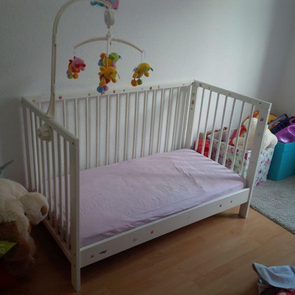 babybett matratze kaufen gebraucht und g nstig. Black Bedroom Furniture Sets. Home Design Ideas