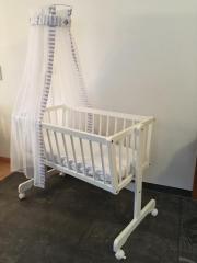Babybett/Wiege weiß