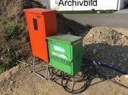 Baustromverteilerschrank und Baustromzählerschank