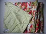 Bett-Decke, Kissen,