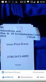 arbeitshose blau kaufen gebraucht und g nstig. Black Bedroom Furniture Sets. Home Design Ideas