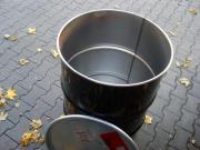 Blechtonnen für Regenwasser (