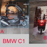 BMW C1, Roller,