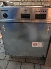 Bosch Spülmaschine voll