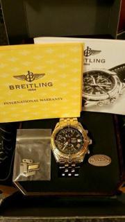 Breitling Crosswind StahlGold