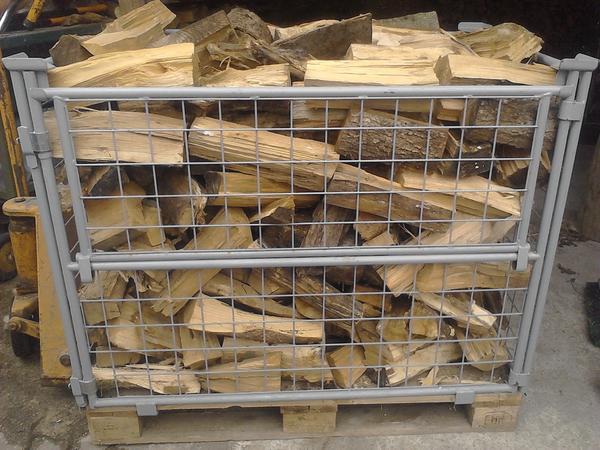 brennholz gitterbox gemischt in erfweiler holz kaufen. Black Bedroom Furniture Sets. Home Design Ideas