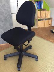 drehstuhl schwarz kaufen gebraucht und g nstig. Black Bedroom Furniture Sets. Home Design Ideas